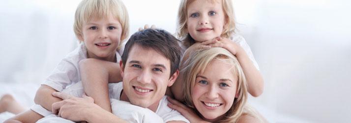 Chiropractic Rockaway NJ Happy Family